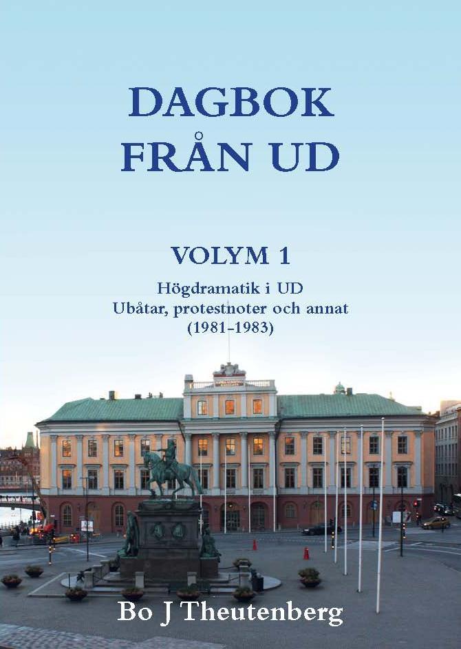 Omslag Dagbok från UD Volym 1