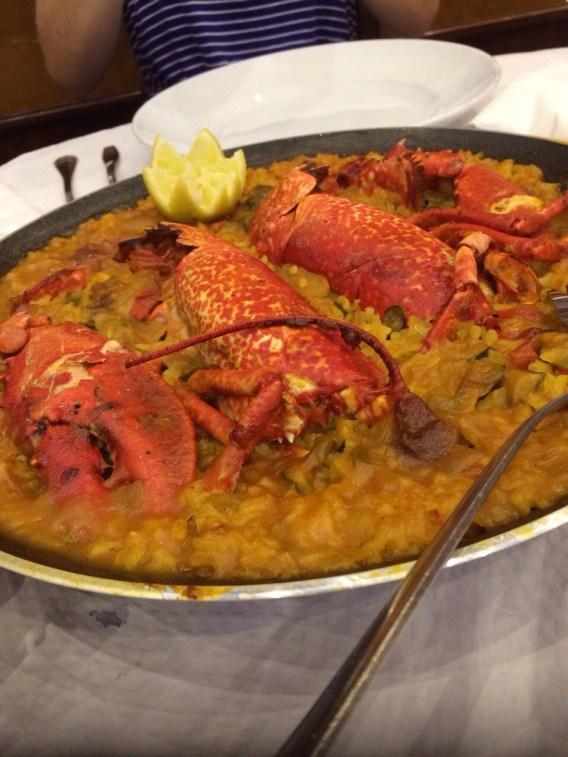 Shellfish Paella, LLanes, Austurias (Spain)