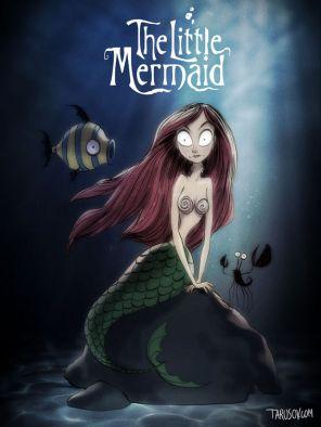 The Little Mermaid by Andrew Tarusov