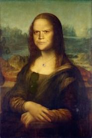 Angry Splash Mountain Mona Lisa