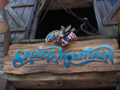 """Splash Mountain"" by Castles, Capes & Clones is licensed under CC BY-ND"