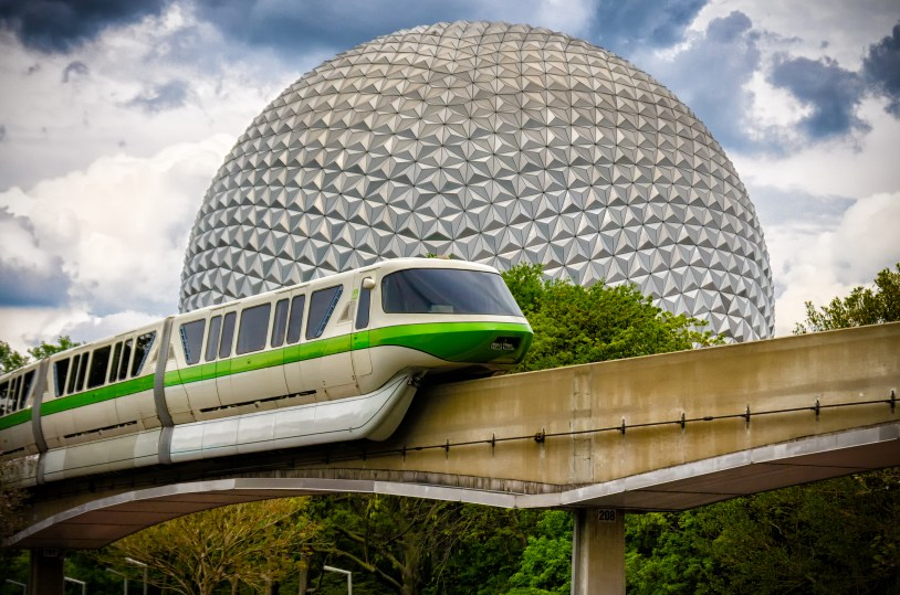 """""""Monorail Monday: A Stormy Day"""" by CL Photographs is licensed under CC BY-ND"""