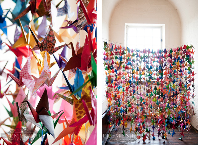 wedding decoration on Pinterest  Paper Cranes Origami Cranes and Origami