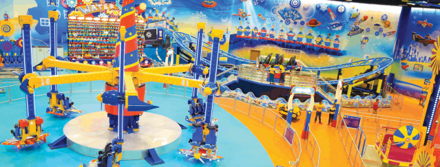 Best Things to do at Yas Island   Fun Works at Yas Mall   The Vacation builder