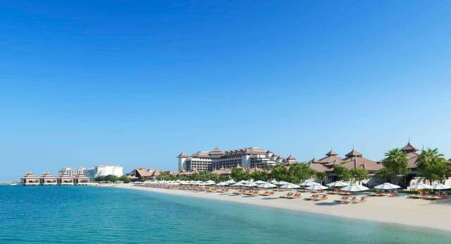 Anantara Beach and Water Bungalows on The Palm Jumeirah | Best Hotels on The Palm Dubai