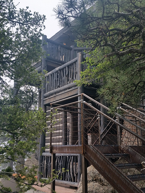 Luxury Fire Tower Suite at The Broadmoor Cloud Camp