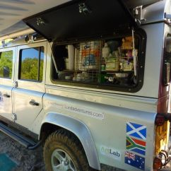 Twin Pull Out Chair Baby Bounce (not) For Sale: Land Rover Defender 110 Including Complete Overland Kit | The Vagabond ...