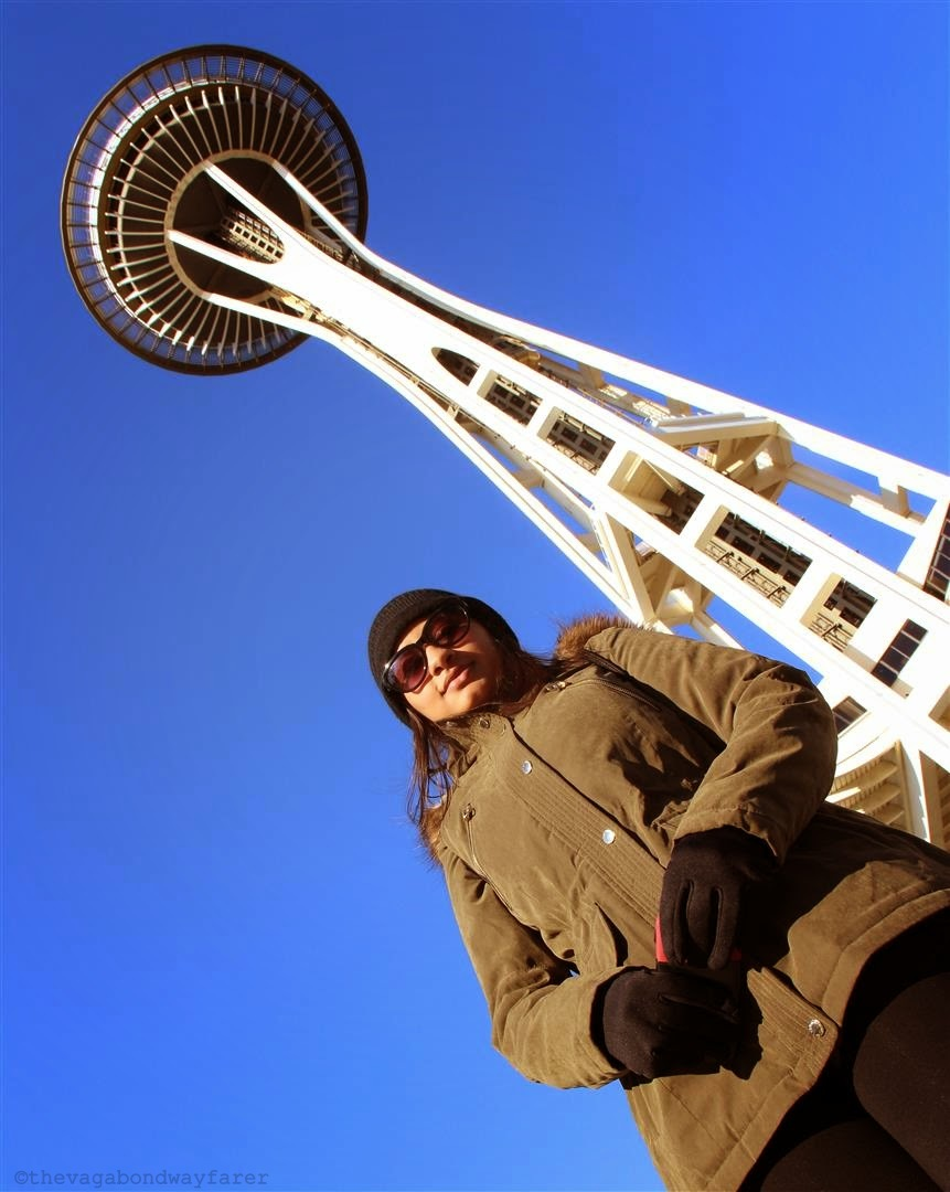 Space Needle, Seattle. The Pacific Northwest - The Vagabond Wayfarer