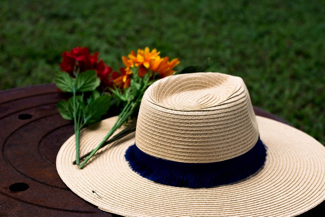 Mango straw hat from Asos - The Vagabond Wayfarer