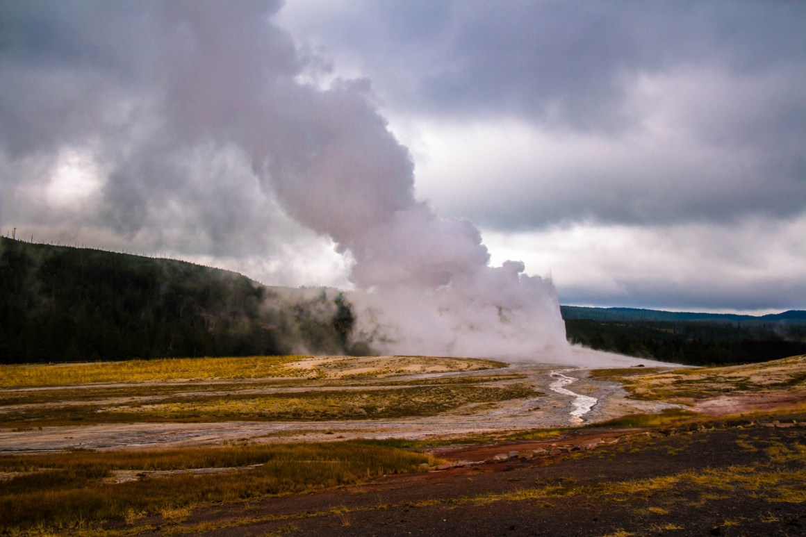 Old Faithful - Yellowstone National Park