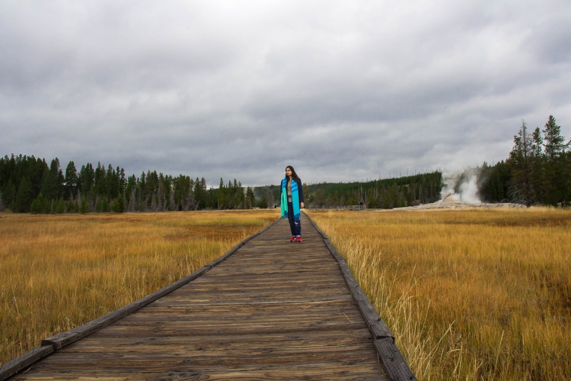 Yellowstone NP, The Vagabond Wayfarer