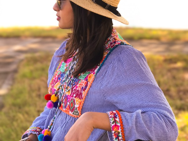 Ethnic Embroidery Pom Pom jacket - The Vagabond Wayfarer