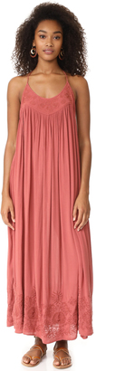 Free People Pink Maxi Dress