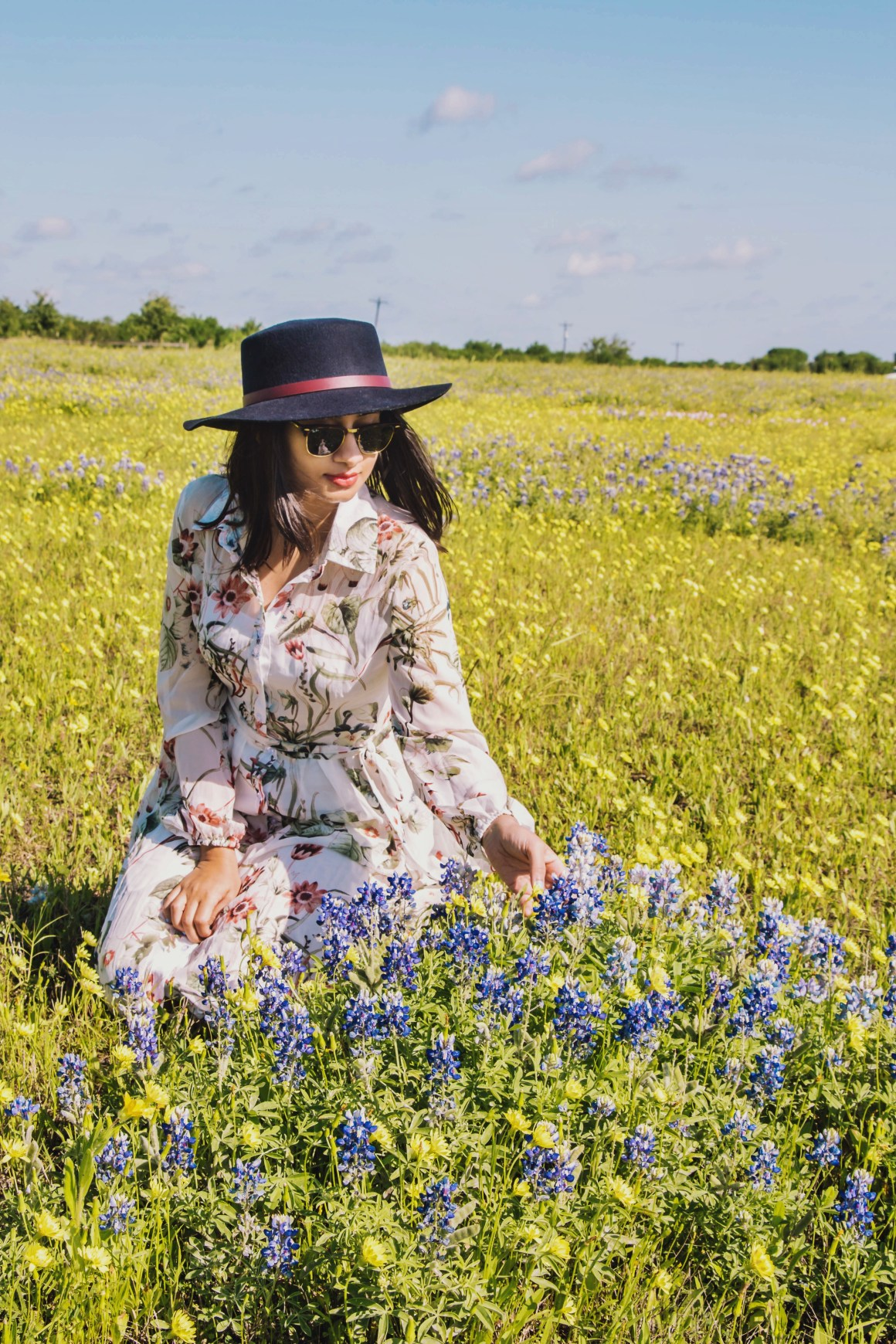 Texas Bluebonnets - The Vagabond Wayfarer
