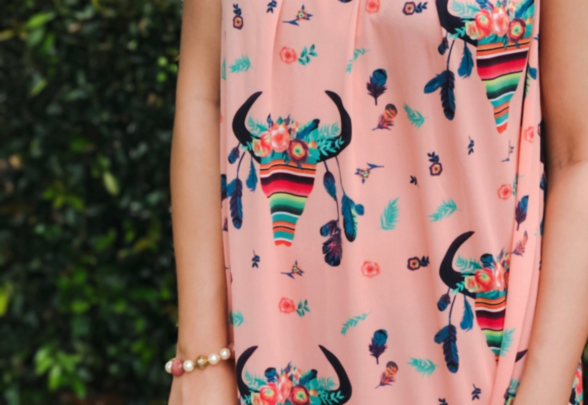Quirky Print Dress