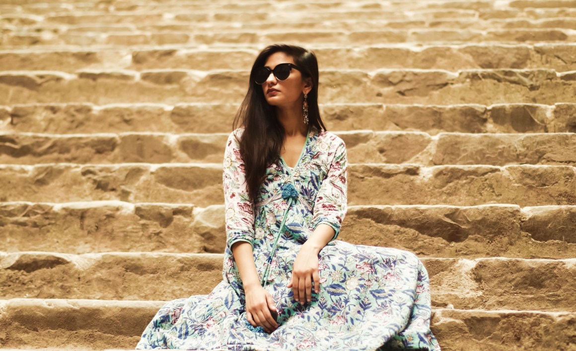 An Indian Summer Revisited, Anokhi dress