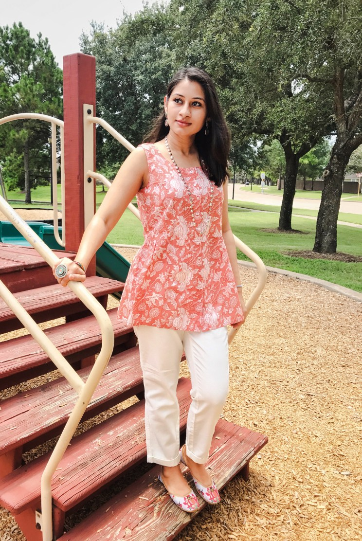 Cotton Comfort - Kurti Cottons, J. Crew pants