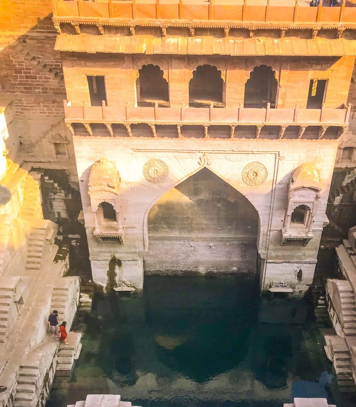 Stepwell cafe Jodhpur