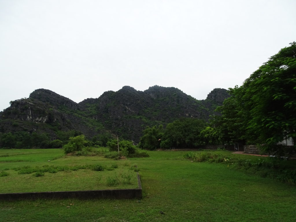 Tam Coc paddy fields