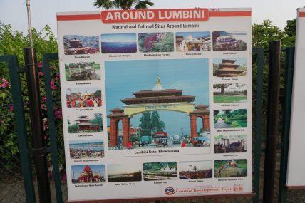 Buddhist Temples around Lumbini