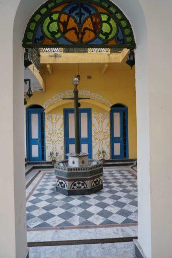Ornated Courtyard