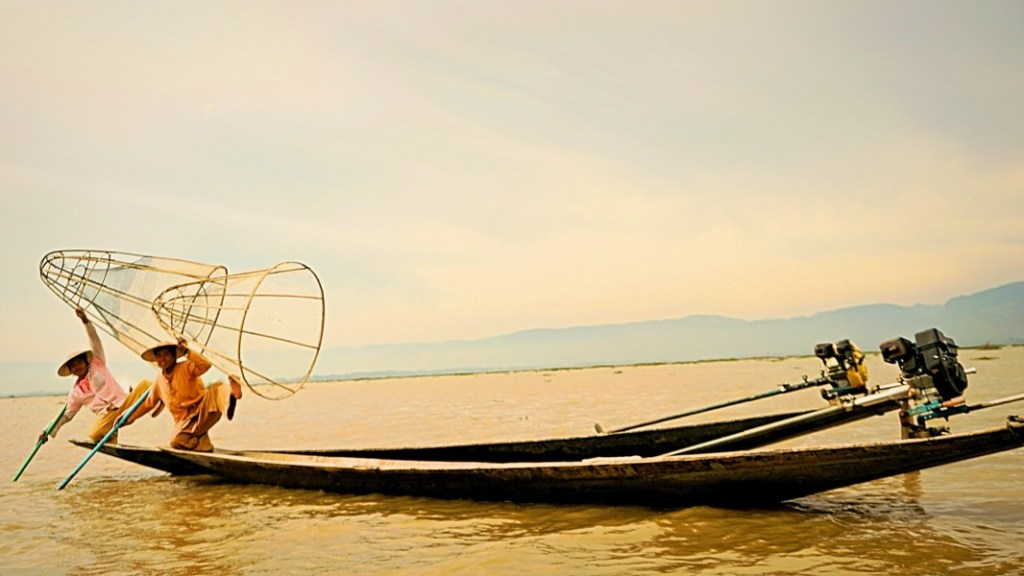 Inle Lake, fishermen