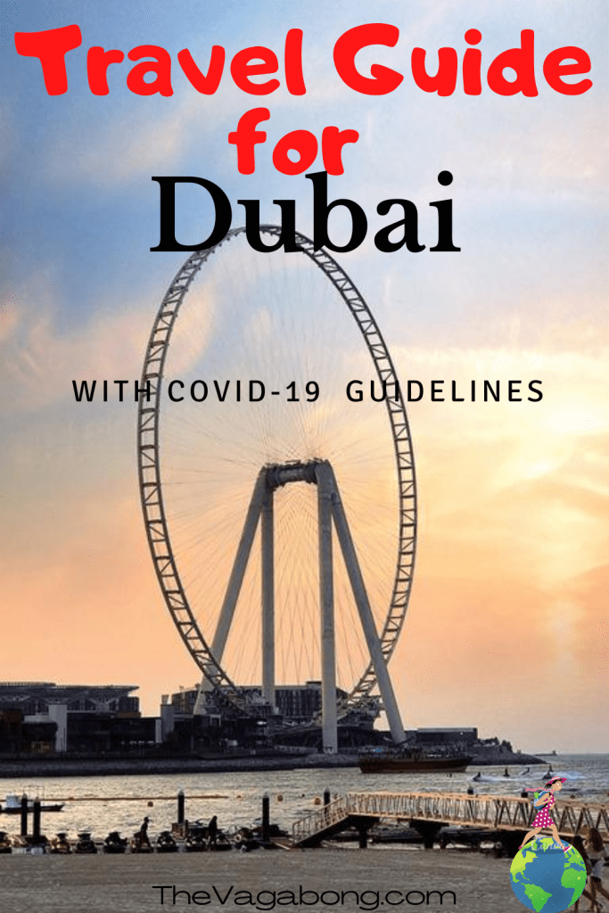 Dubai Travel Guide - Covid 19 guideline