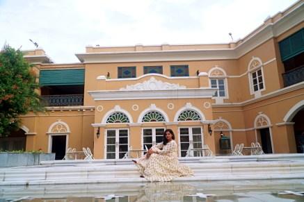 Courtyard -Raajkutir