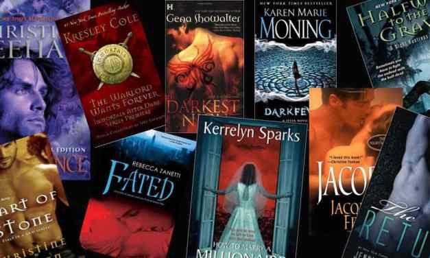 Top 10 Best Paranormal Romance Series Picks