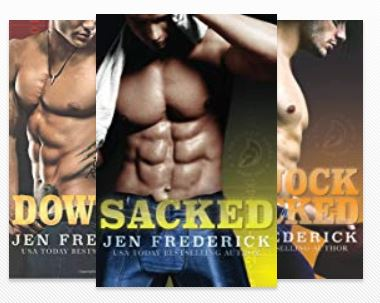 Gridiron series contemporary romance book cover