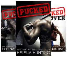Pucked romance series book covers