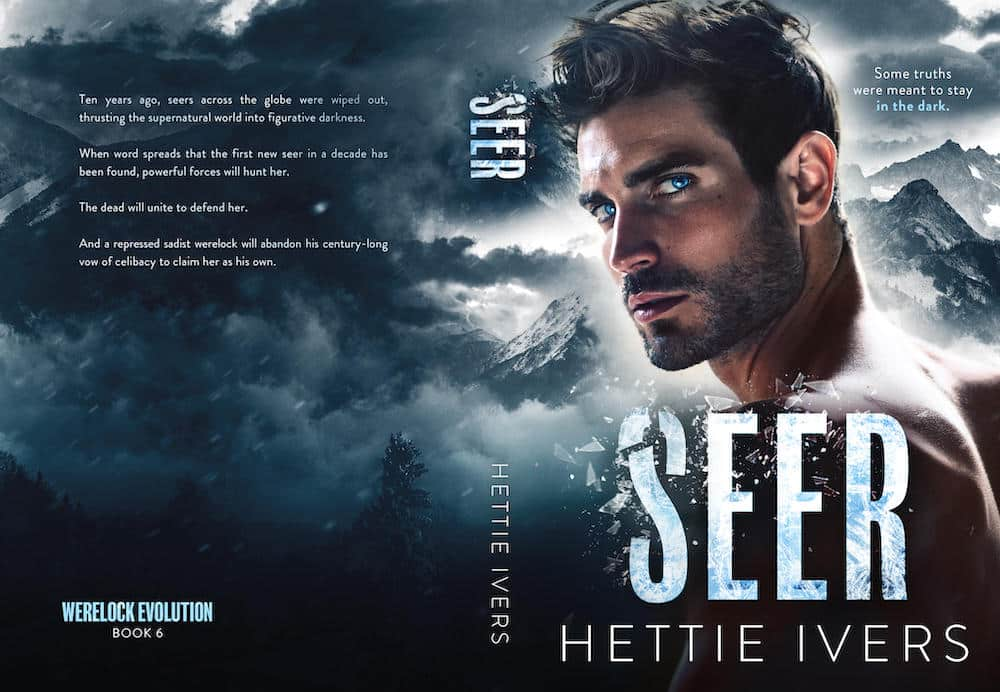 Cover Reveal of SEER by Hettie Ivers - A Paranormal Romance
