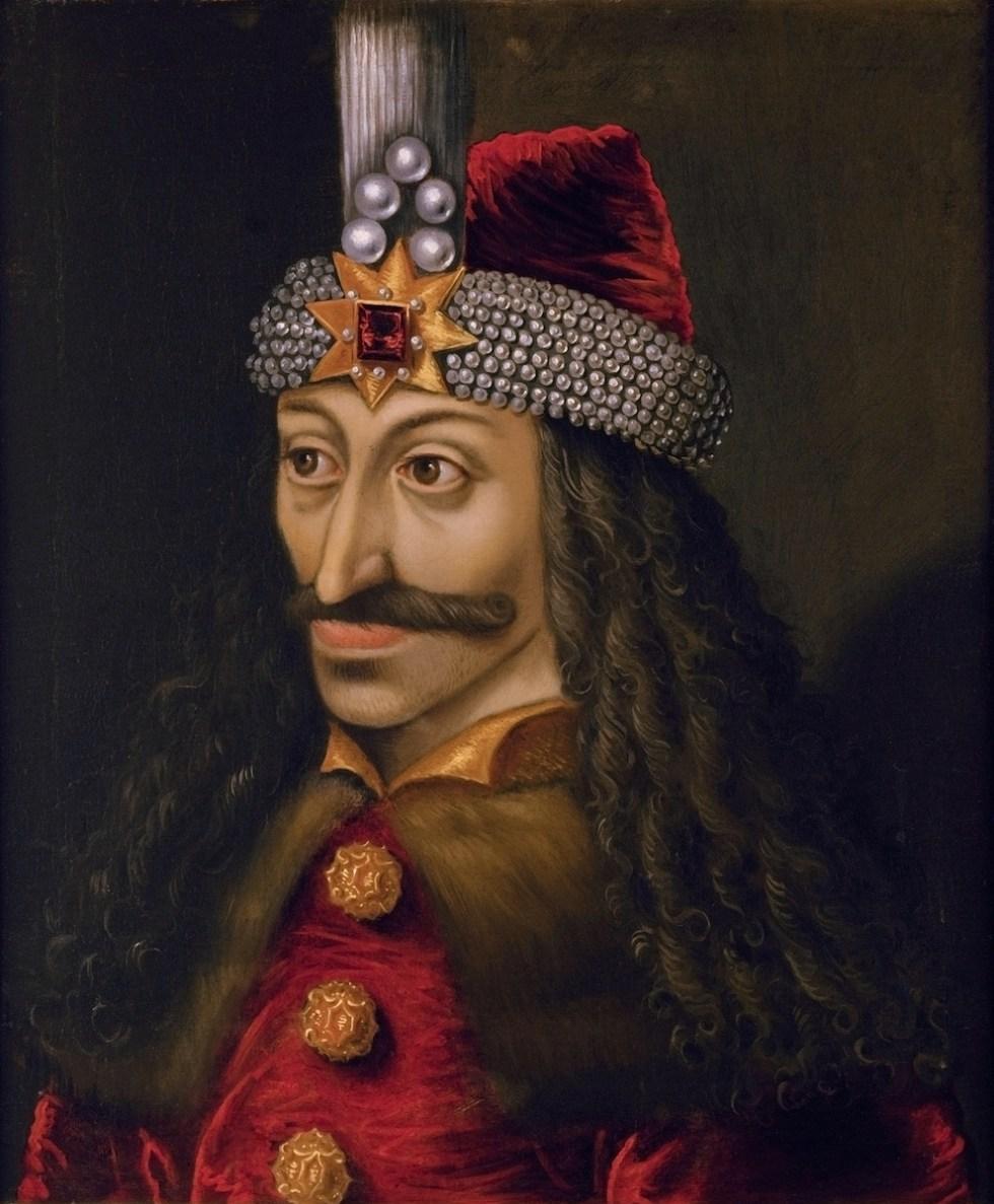 Vlad Dracula's portrait