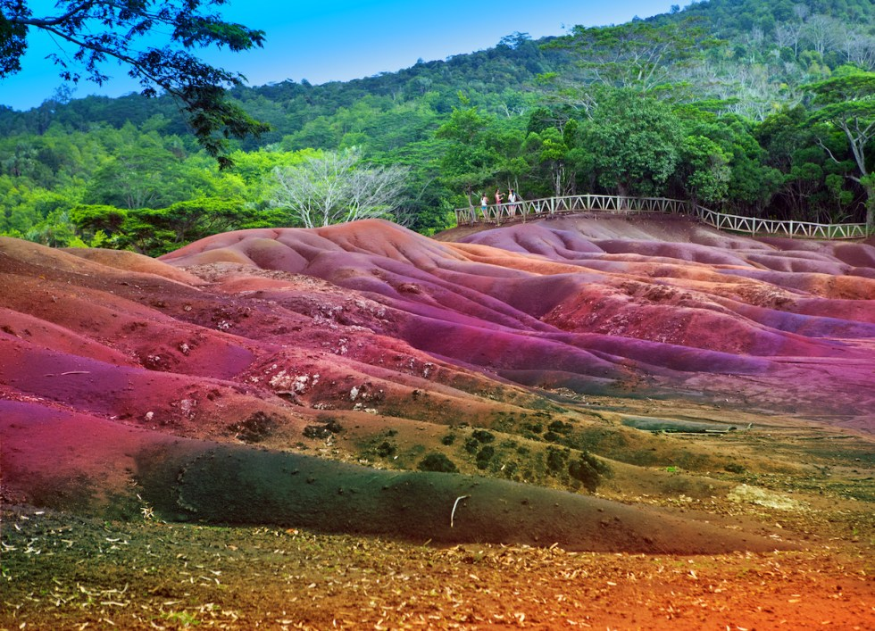 Seven Colored Earths, Mauritius