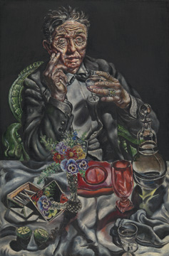 "Ivan Albright. ""Self-Portrait,"" 1935. Mary and Earle Ludgin Collection. © The Art Institute of Chicago."