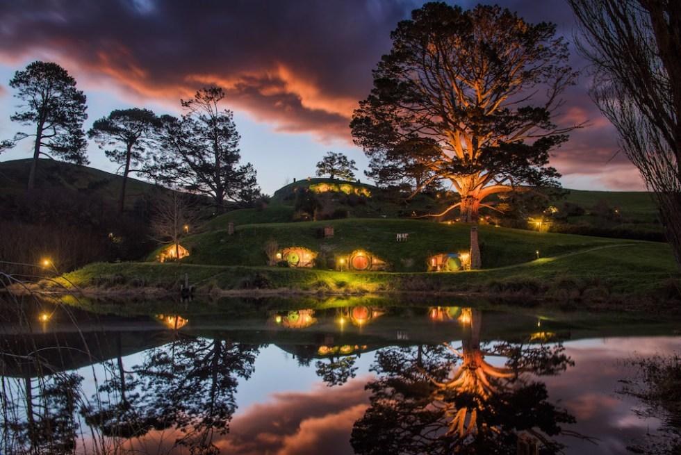 The Hobbiton Movie Set, New Zealand