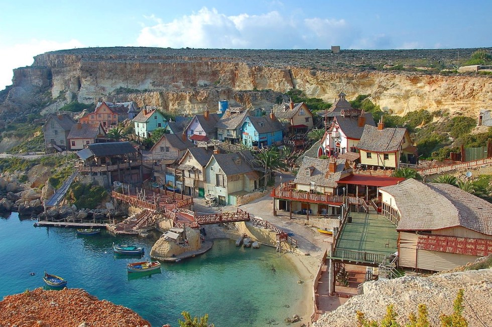 Popeye Village in Malta.