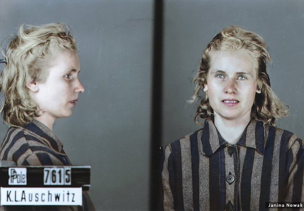 24-year-old female prisoner Janina Nowak