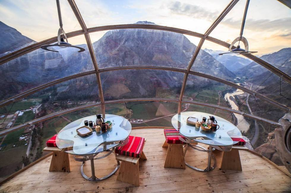 The Skylodge Adventure Suites, Cusco, Peru