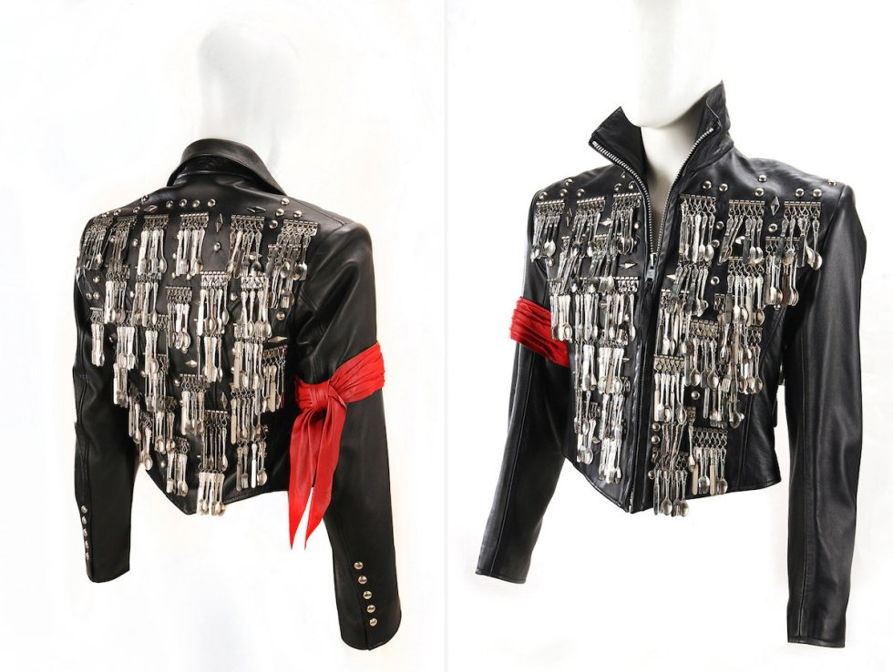 "Michael Jackson's ""dinner jacket"" created by costume designer Michael Lee Bush."
