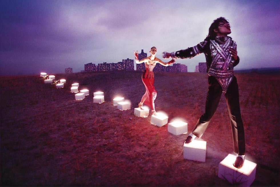 """""""An Illuminating Path,"""" David LaChapelle, 1998."""