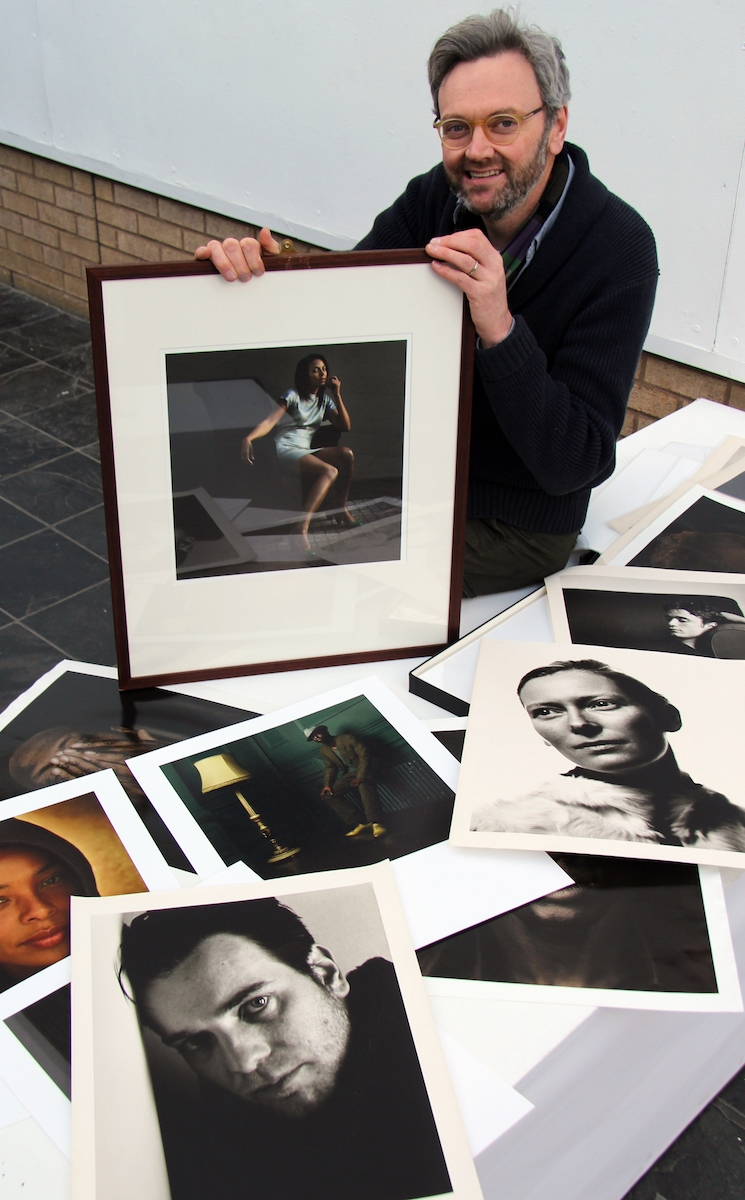 Donald MacLellan selects portraits for his retrospective show at the Heseltine Gallery.