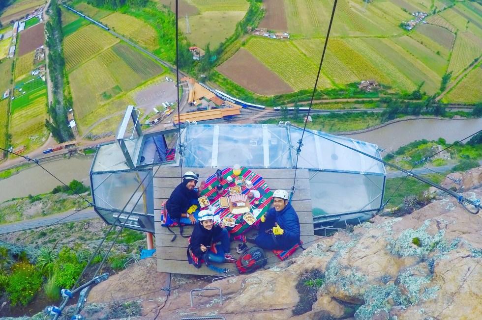 The Skylodge Adventure Suites in Cusco, Peru