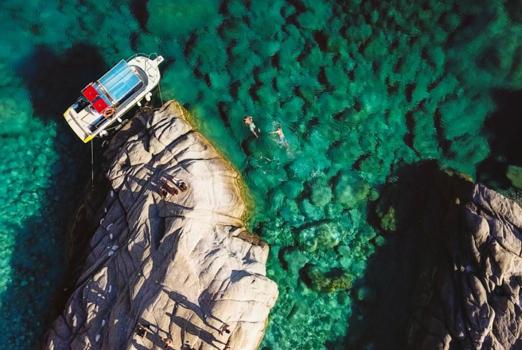 Seychelles beach, Ikaria island, Greece.