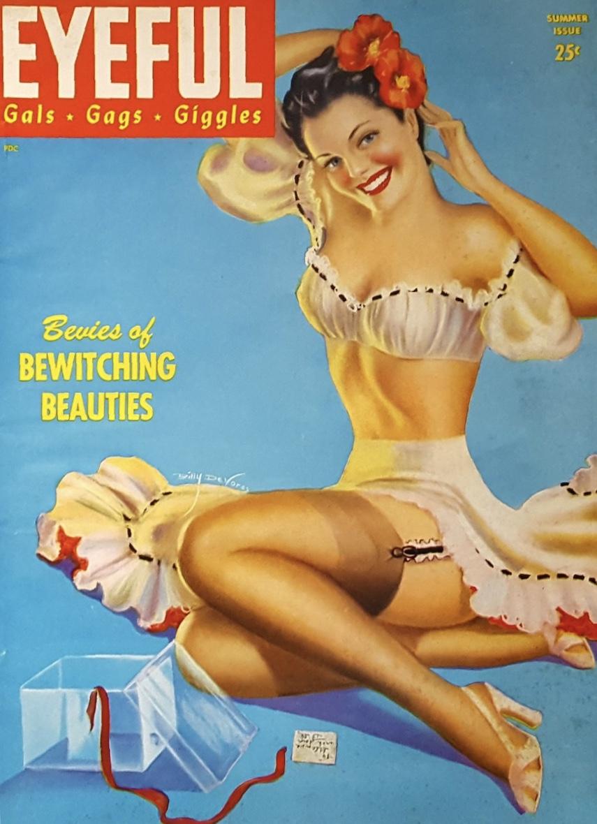Eyeful (1945), Billy Devorss