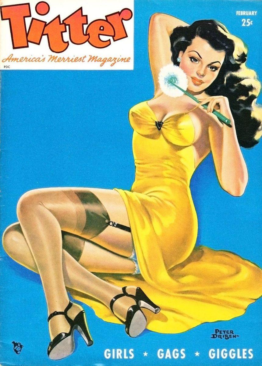 Titter Magazine (1955), Peter Driben