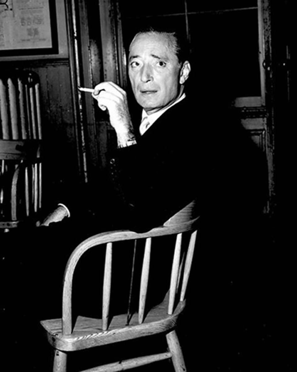 Robert Harrison in 1957