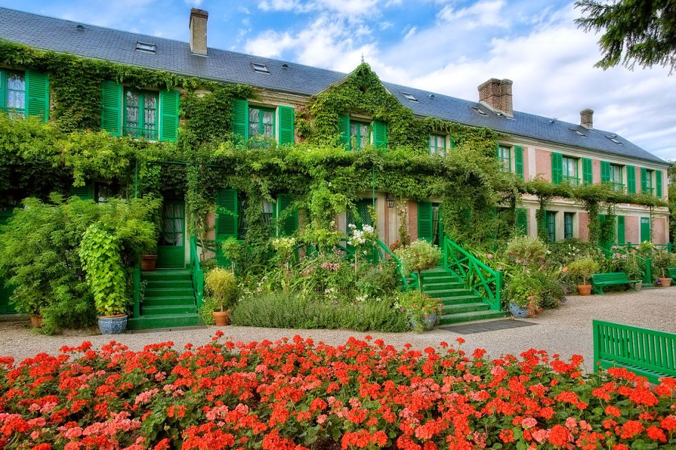 Claude Monet House and Gardens at Giverny in Northern France.