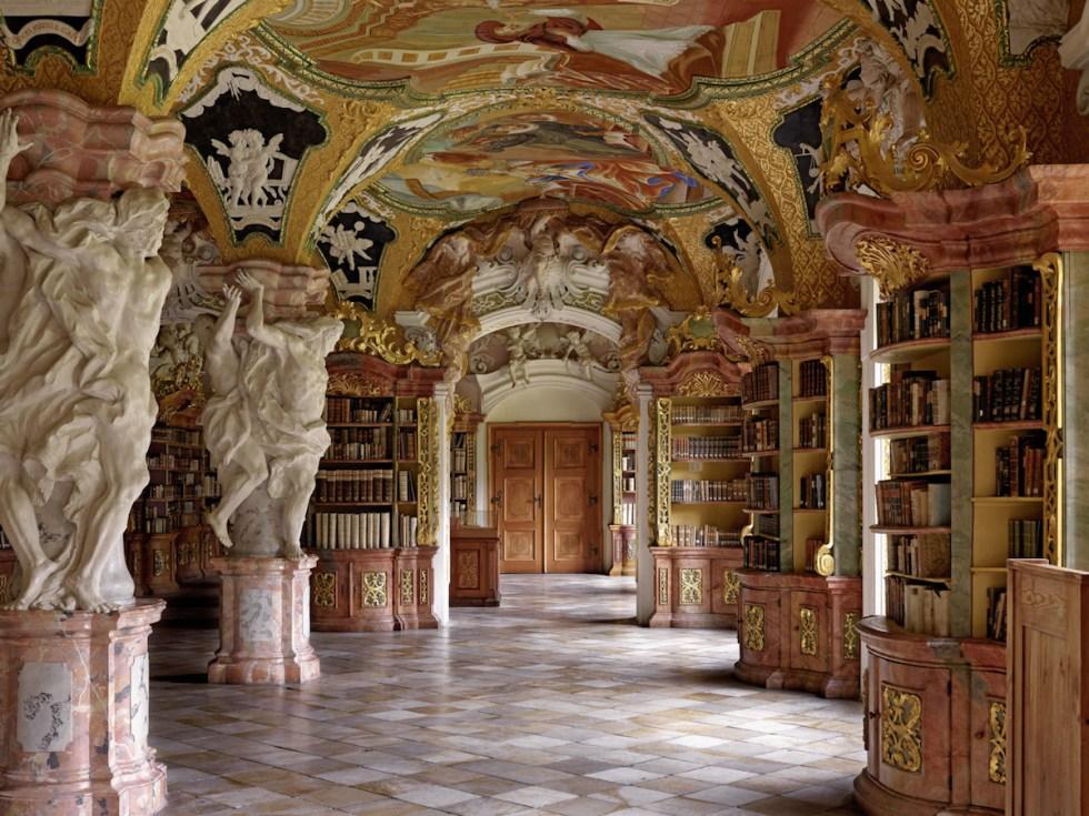 Klosterbibliothek Metten, Metten, Germany. Photograph © Massimo Listri / TASCHEN