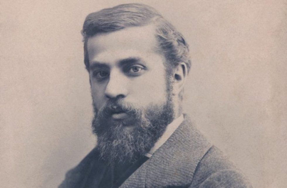 Spanish architect Antoni Gaudí i Cornet (1852 – 1926).